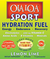 Image of Ola Loa Lemon-Lime SPORT packet